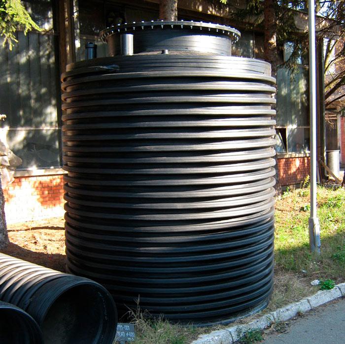 krusik plastika vertikalni rezervoar za ukopavanje