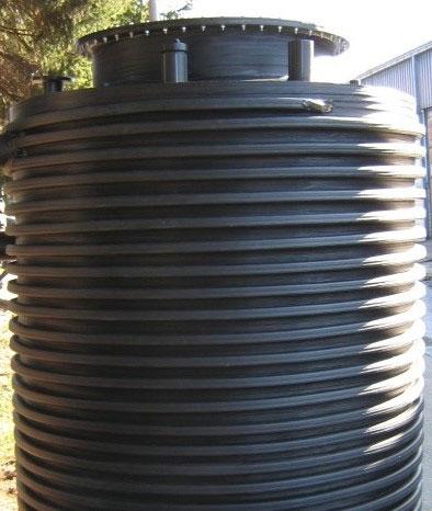 krusik plastika rezervoari vertikalni za ukopavanje